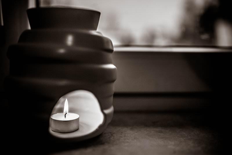 Duftlampe mit Teelicht: für Entspannung und Wohlbefinden